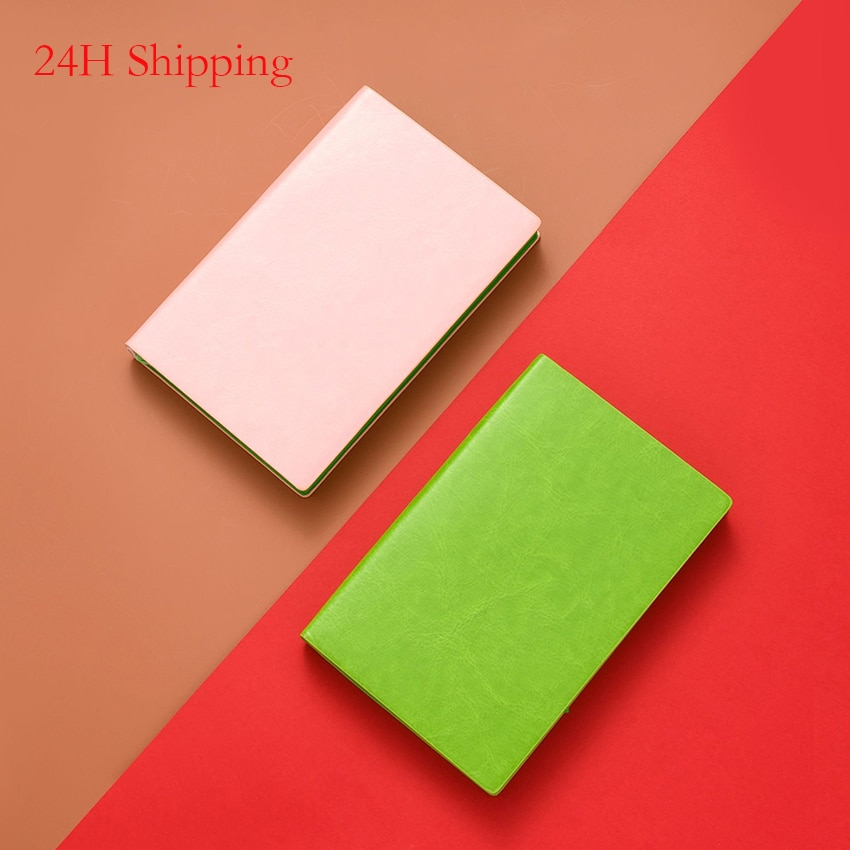 New product cute PU leather candy color planner diary weekly plan notebook school office supplies cute stationery dropshipping new products on the shelves lovely flowers schedule diary weekly plan notebook school office supplies lovely stationery