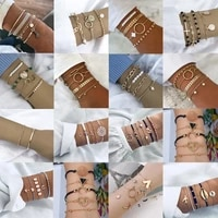 multi layer beads natural pearls womens bracelets luxury golden metal charms boho jewelry paired things bijoux wholesale