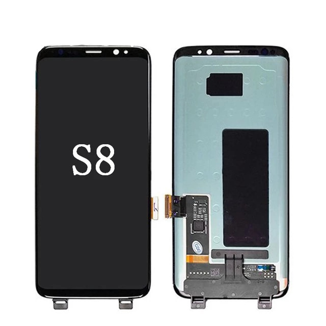 Original SUPER AMOLED S8 LCD For Samsung Galaxy S8 G950 G950F Lcd Display Touch Screen Digitize With Black Dots or with Line enlarge