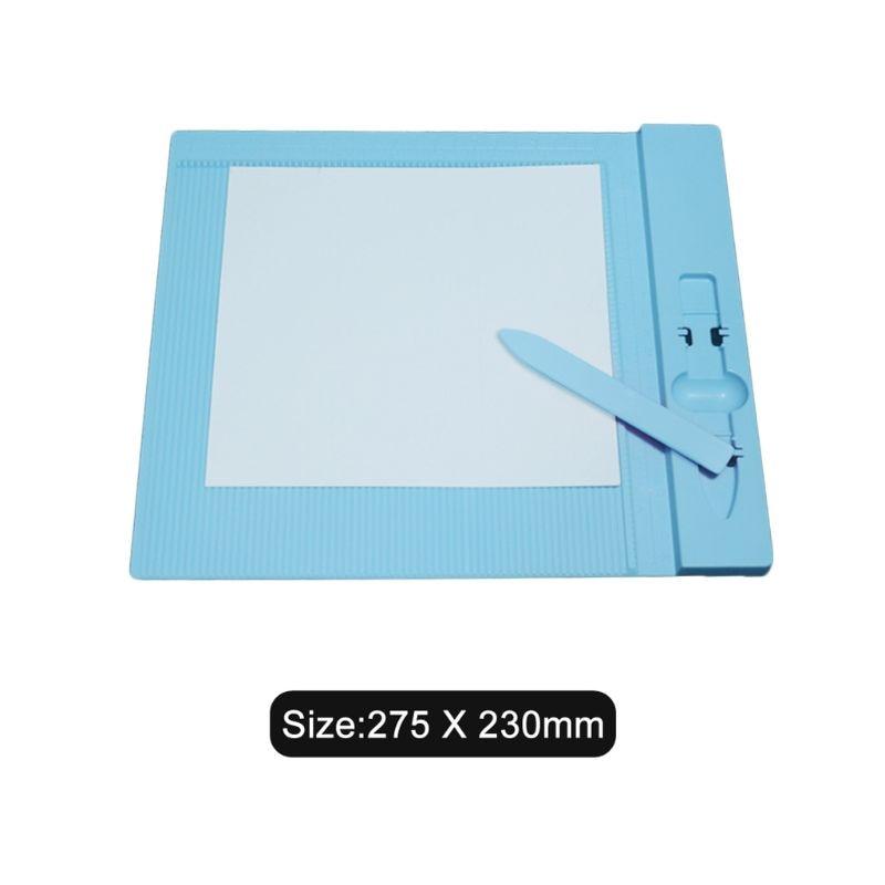 Professional Mini Score Scoring Board Measuring Tool For Origami Envelope Card Folder Tools X7YD