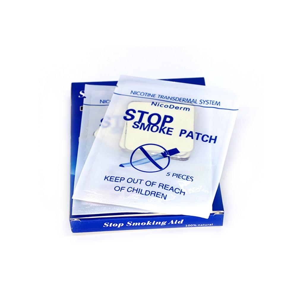 1 caja = 30 parches de nicotina naturales para dejar de fumar
