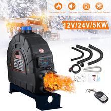5KW Alle-in-One-Auto Heizung 12V/24V Air Diesel Heizung Parkplatz Heizung LCD Thermostat für RV Wohnmobil Anhänger Wohnwagen Lkw Boote