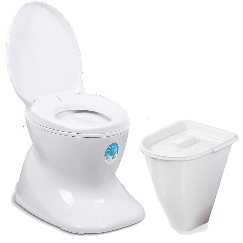 كرسي مرحاض مرحاض المسنين مرحاض متنقل المنزلية المحمولة المسنين النساء الحوامل المرحاض القرفصاء المرحاض للجلوس مقاعد البدلاء