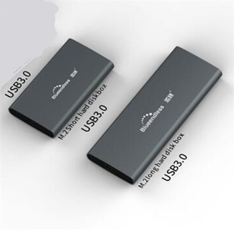 M.2 SATA NGFF m.2 ssd case portable SSD Hard Disk Enclosure Type c USB 3.0 2242/2260/2280 SSD Enclosure Aluminum SSD Caddy enlarge