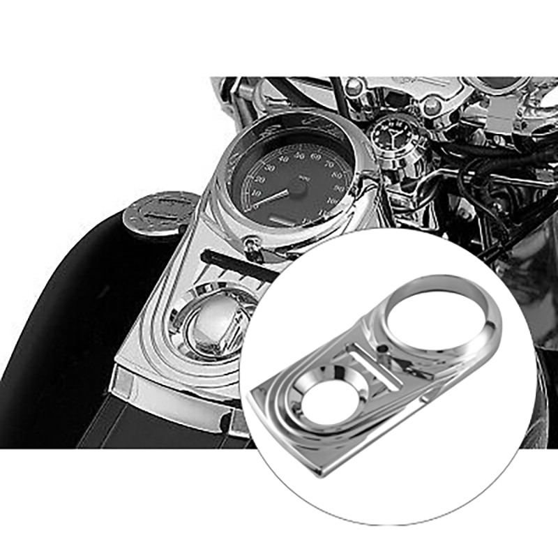 غطاء ديكور لوحة القيادة للدراجة النارية غطاء لوحة القيادة لسوفتيل ديلوكس بوي هيريتيج سوفتيل كلاسيك 1993-2017