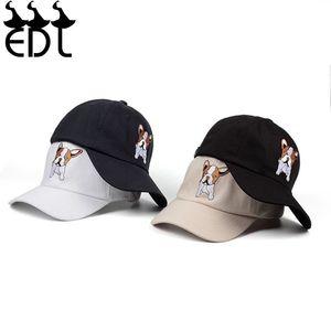Animal Embroidered Baseball Cap Fashion Versatile Cute Baseball Cap Leisure Student Cap Cap Outdoor Sunscreen Cap Kawaii Gift