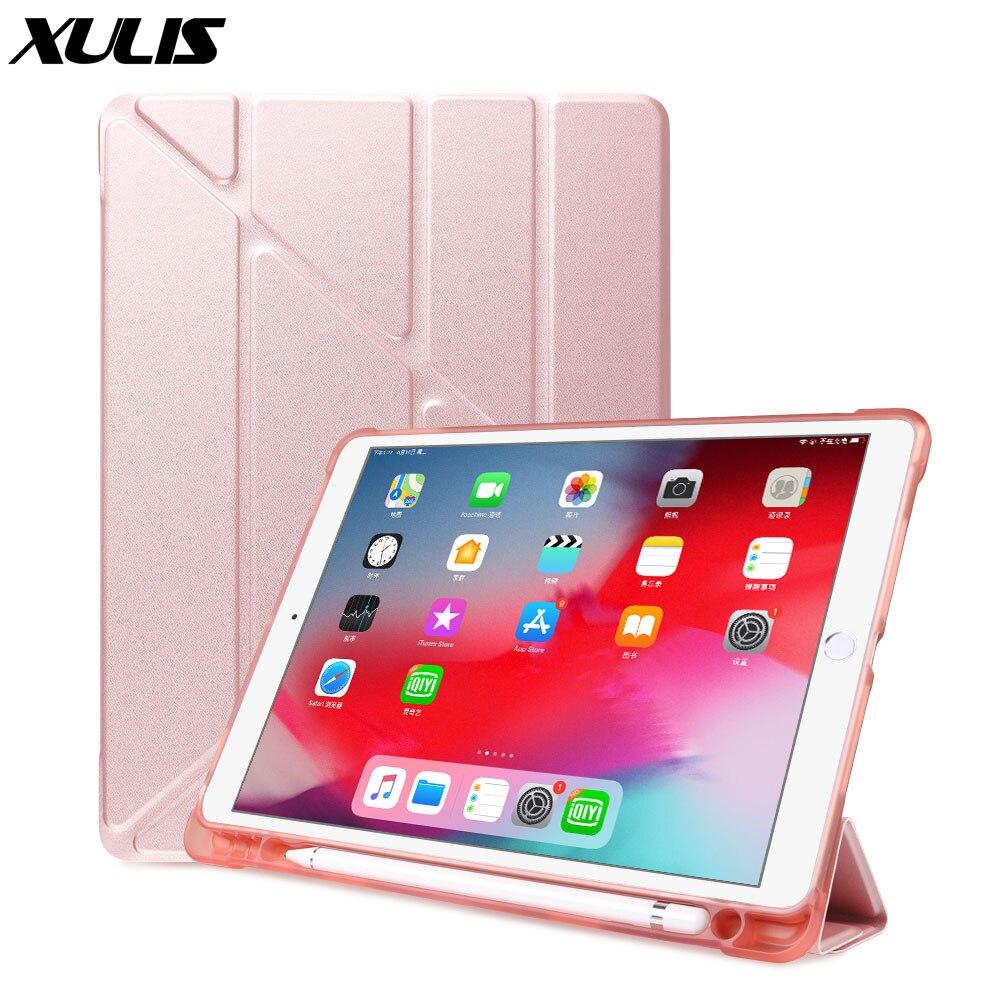 Funda para iPad Air 3 2019, funda de silicona para ipad Pro 10,5 10,2, funda, funda Ultra delgada para ipad Air 3, funda con soporte para lápices