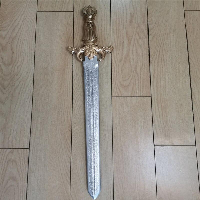 Косплей игры аниме фильм маленький золотой меч оружие реквизит ролевые игры значимый меч PU модель прекрасный подарок оружие реквизит 79 см