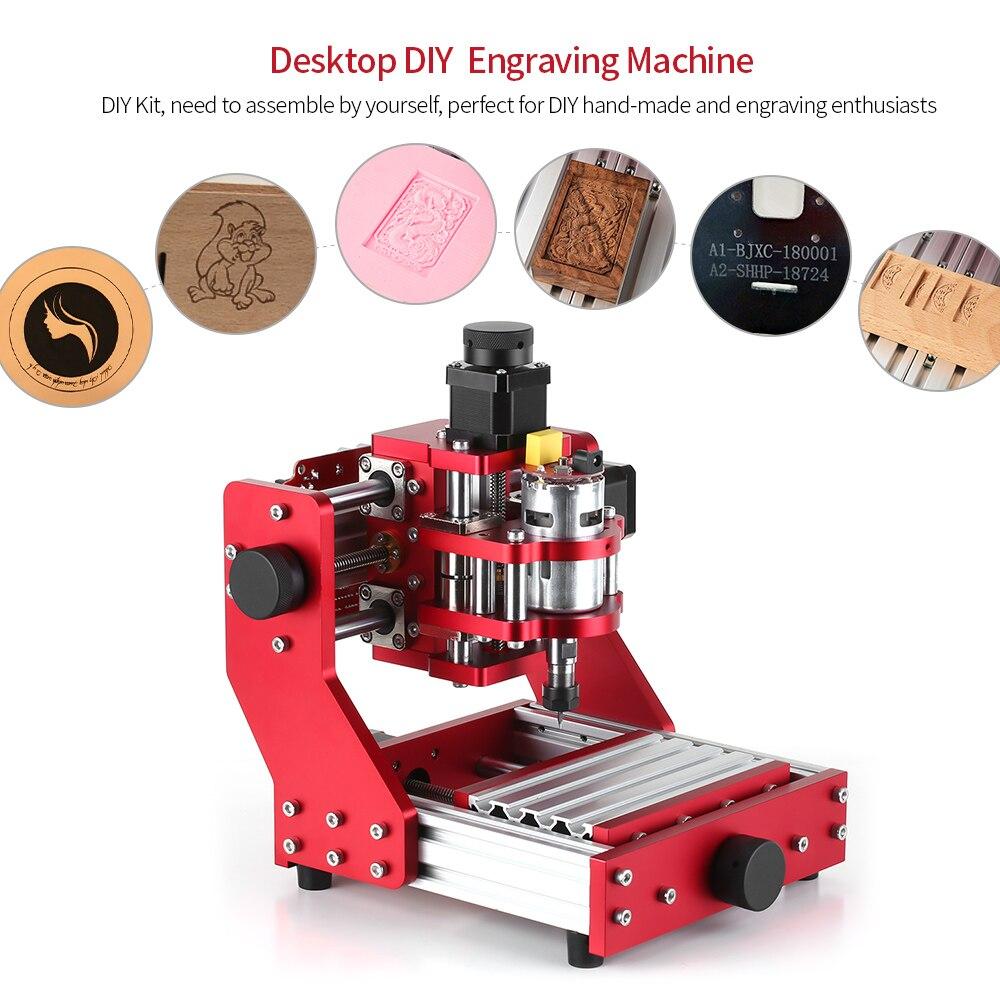 Mini gravador a laser cnc, máquina roteadora 1310, kit de ferramentas de fresagem, gravação em metal, pcb, fresagem em madeira, gravador a laser com er11 collet