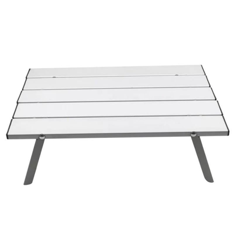Mesa plegable pequeña para exteriores, tienda de campaña, barbacoa, cama para el...