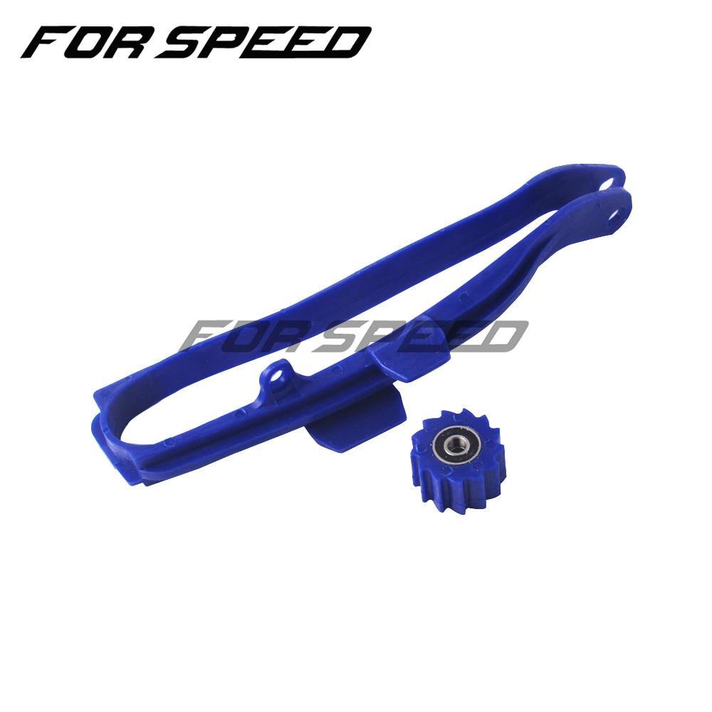 Направляющая и нижний ролик цепи мотоцикла Swingarm для YAMAHA YZ125 YZ250 WR250F WR450F YZ250F YZ450F YZ WR 125 250 450        АлиЭкспресс