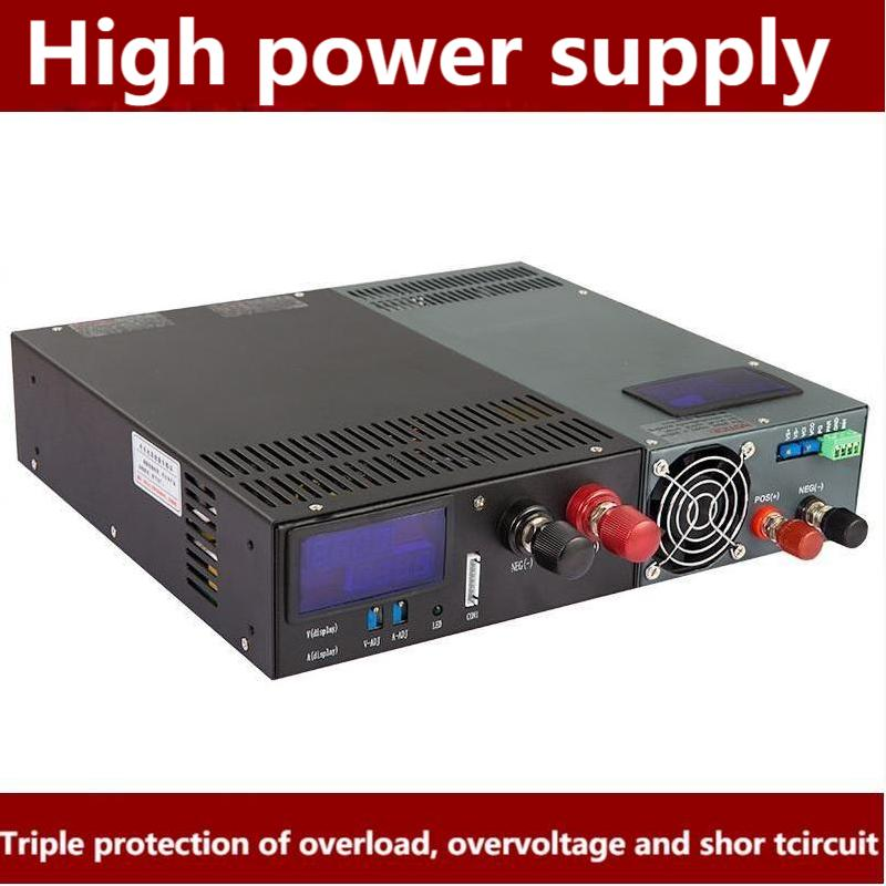 Rsp-2000 عالية الطاقة PFC تحويل التيار الكهربائي 24 فولت/12/48 فولت عالية الكفاءة 2000 واط SUSWE