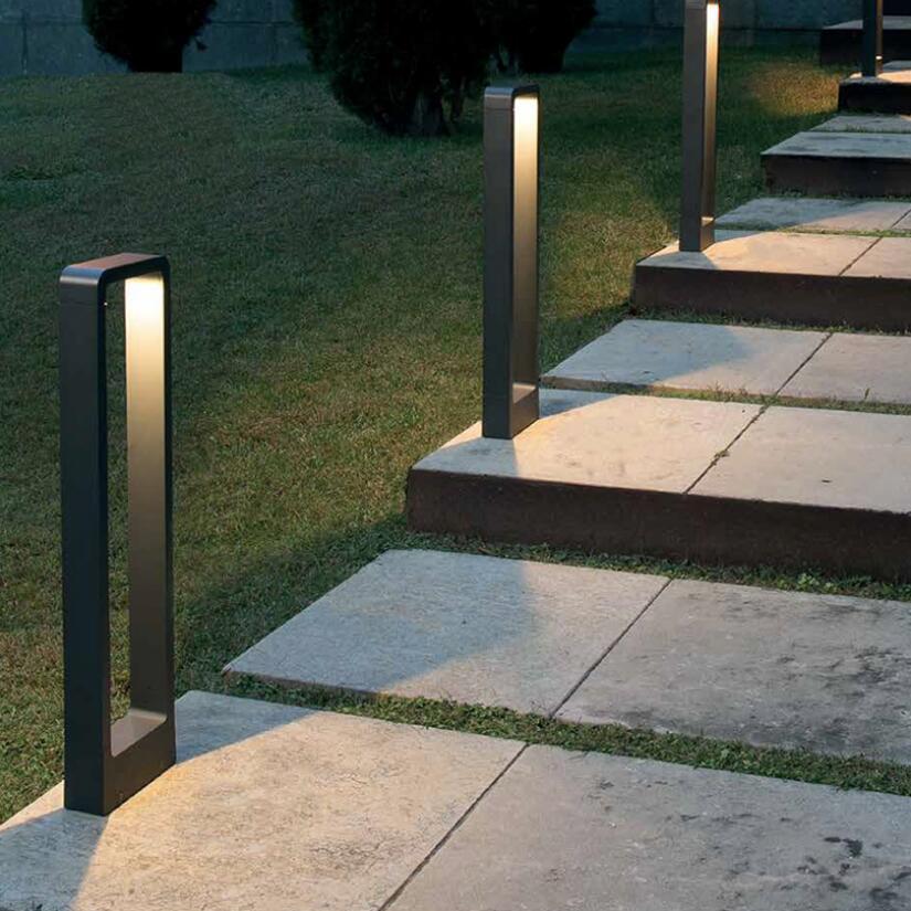 12 Вт Водонепроницаемый светодиодный садовый светильник для газона современный