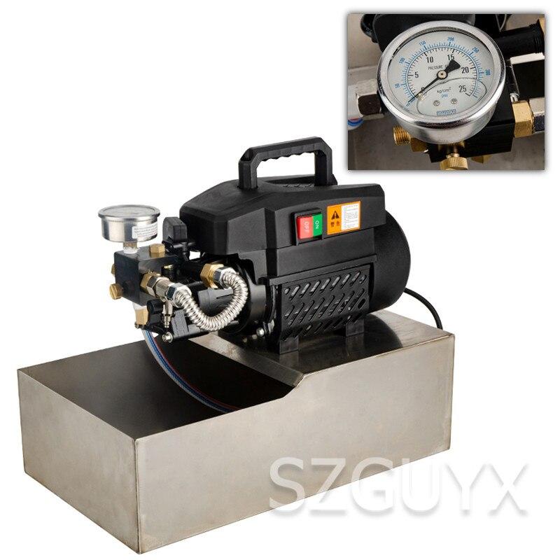 Pequeño, portátil, ppr, tubería de agua, bomba de prueba de presión eléctrica, máquina de prensa, tubería de calefacción de suelo, bomba de presión