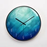 luxury glass wall clock modern silent creative watch wall clocks home deocr living room kitchen big clock reloj cocina gift