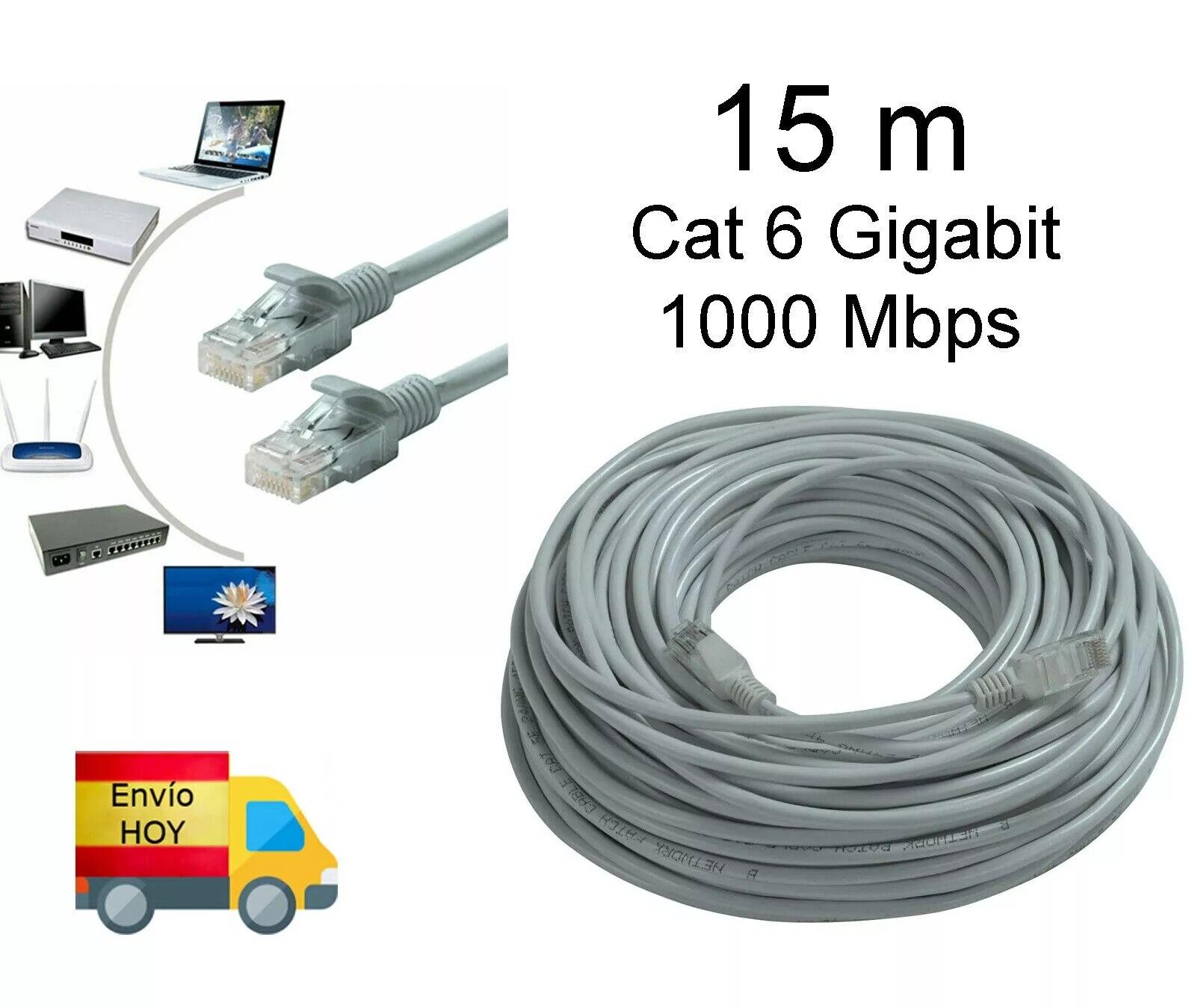 Cable de red rj45 rj46 compatible con android inteligente m3u IOS PC...
