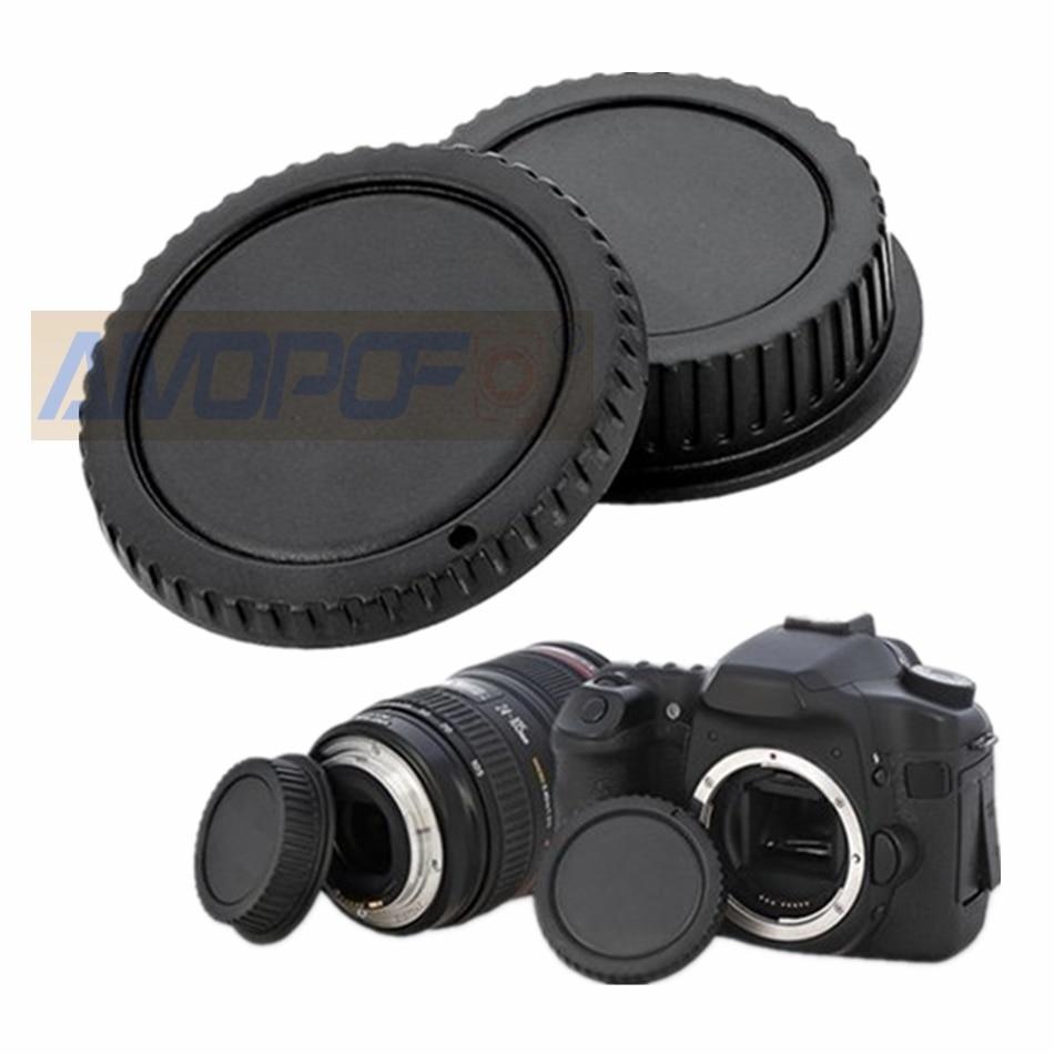 Cuerpo de Cámara EOS y tapas de lentes traseras, Compatible con montura Canon EOS Para EF 5D II III 7D 70D 700D 500D 550D 600D 1000D