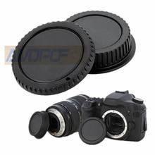 EOS Kamera Körper und Hinten Objektiv kappen, kompatibel mit für Canon EOS Mount für EF 5D II III 7D 70D 700D 500D 550D 600D 1000D