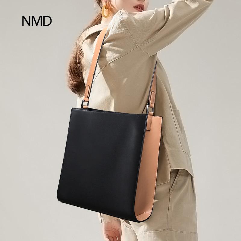 NMD-حقيبة كتف من الجلد الصناعي للنساء ، حقيبة كتف من الجلد الصناعي عالي الجودة بتصميم عصري
