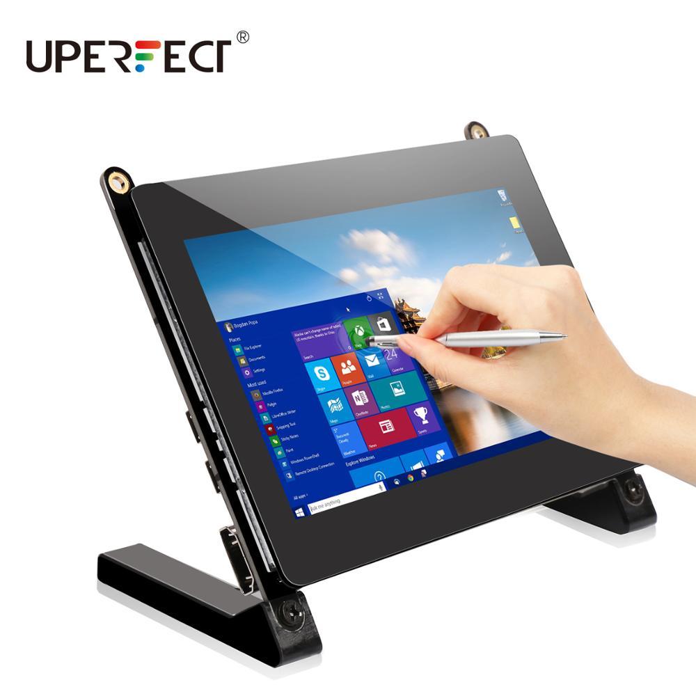 Tragbare Monitor 5 Zoll Touchscreen IPS Display 800*480 16:9 gebaut-in Dual Lautsprecher Kompatibel mit USB HDMI Raspberry Pi