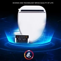 wetips remote control toilet cover smart toilet seat with heating helps detoxify warm wash electronic intelligent bidet cover