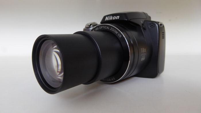Бывшая в употреблении цифровая камера Nikon Coolpix P80 10 1 МП с широкоугольным