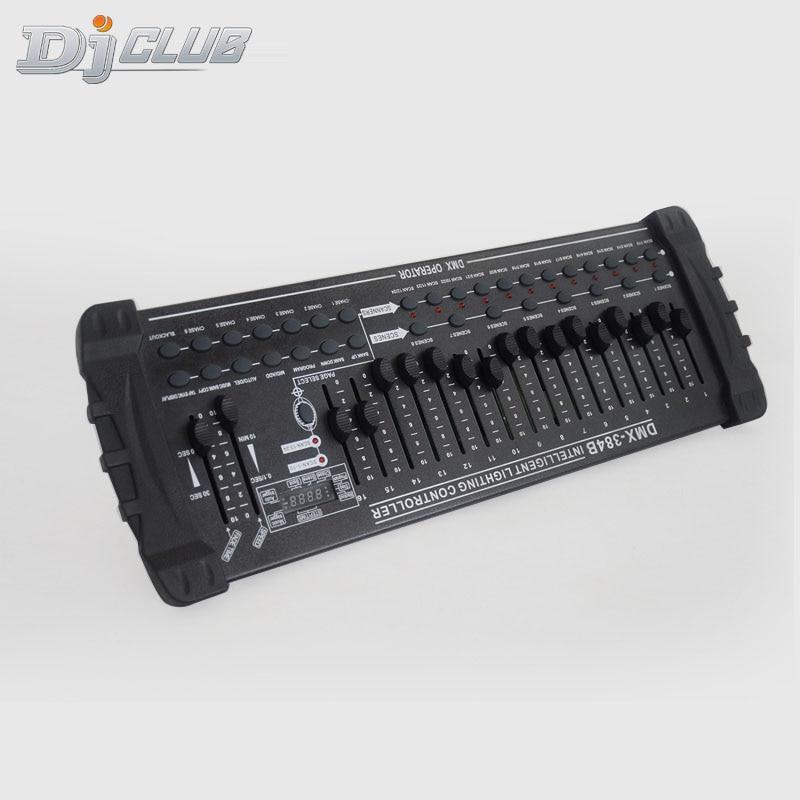 384 Dmx Controller Dj Equipment Dmx 512 Console Stage Lighting For Led Par Moving Head Spotlights Dj Controlle