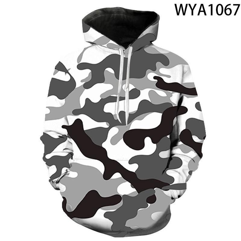 2020 kühlen 3D Gedruckt Military Camouflage Hoodies Männer Frauen Kinder Sweatshirts Marke Tops Junge Mädchen Kinder Mit Kapuze Pullover