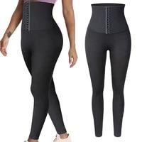 tummy control fitness leggings women high waist slimming gym legging butt lift booty push up gym pants legins corset body shaper