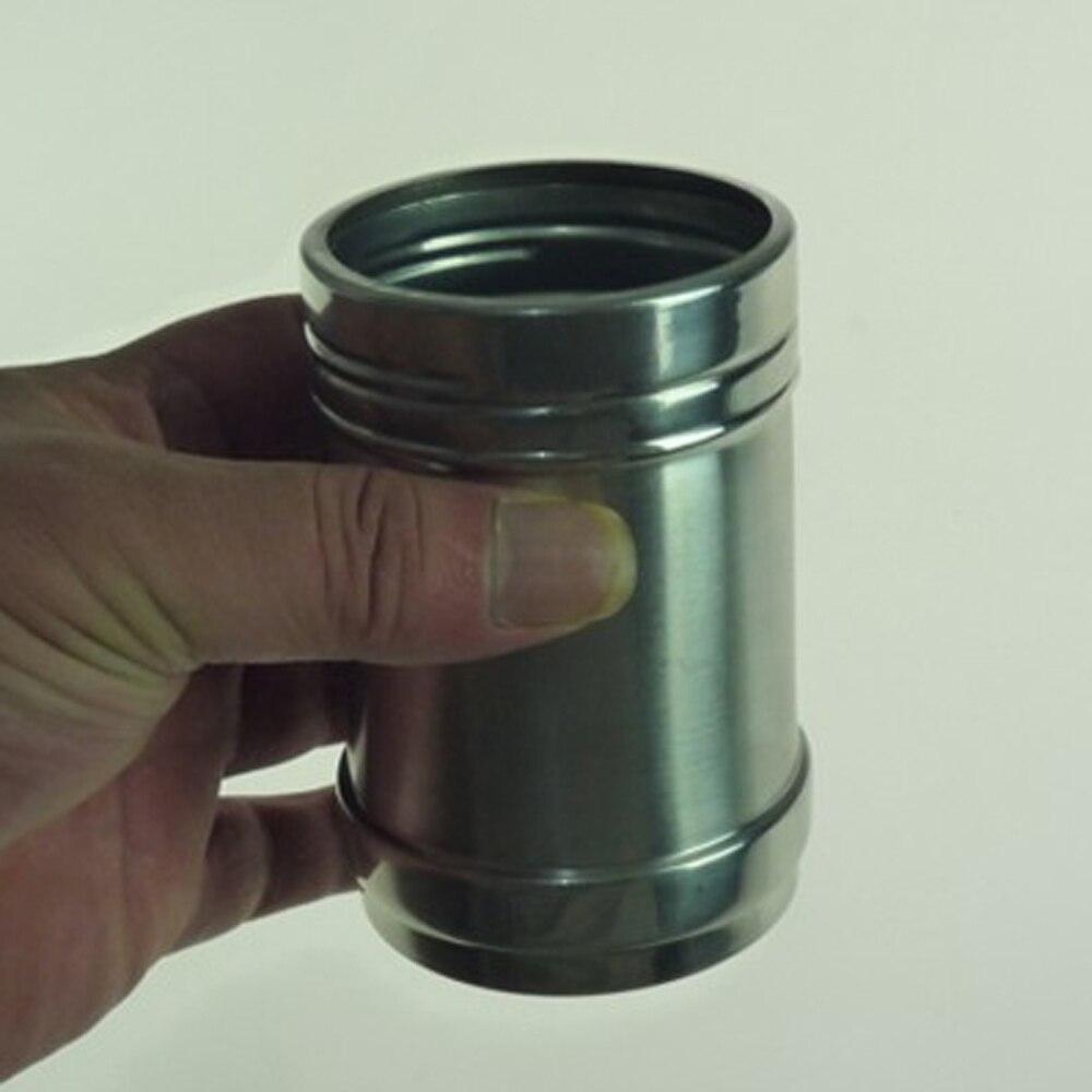 Taza hidrostática trucos de Magia divertido Satge Close Up Magia Steel Cup Illusion Mentalism gimwick Props líquido permanece en la Magia de cristal