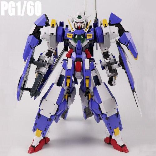 DABAN PG 1/60 Gundam Avalanche Exia Assembled Action Figure Model Toys + Led light a+ Battle Damage Cloak