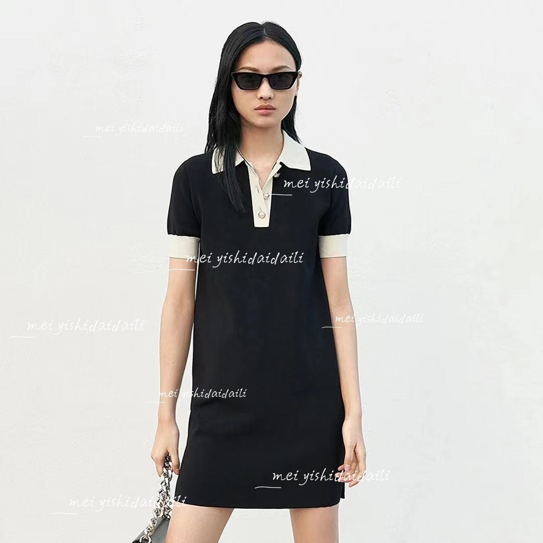 2021 CHGA 1-45 فستان صيفي فستان رايون
