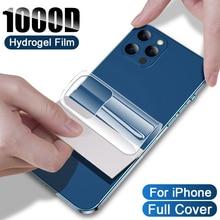 Hydrogel Film For iPhone 12 11 Pro MAX mini Screen Protector 7 8 6 6S Plus SE 2020 XR X XS MAX Back