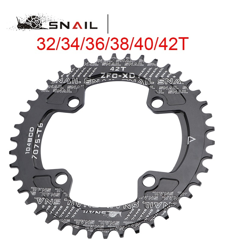 104BCD MTB Bike Crankset 170/172.5/175mm Crank With Bottom Bracket 32/34/36/38/40/42T Chainring 8 9 10 11S  Bicycle Crankset