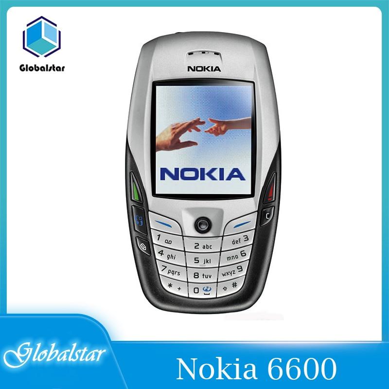 Nokia 6600 refurbished Original NOKIA 6600 Mobile Phone Bluetooth Camera Unlocked GSM Triband White