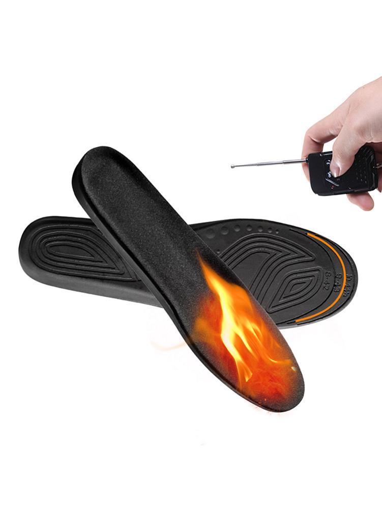 Стельки с подогревом зимой, стельки с электрическим подогревом USB, можно разрезать, трехскоростная регулировка температуры, стельки с подог...