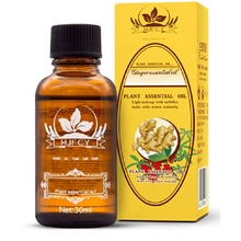 Natural Plant Therapy Essential Oils Anti Aging Lymphatic Drainage Ginger Oil Body Massage Oils Deto
