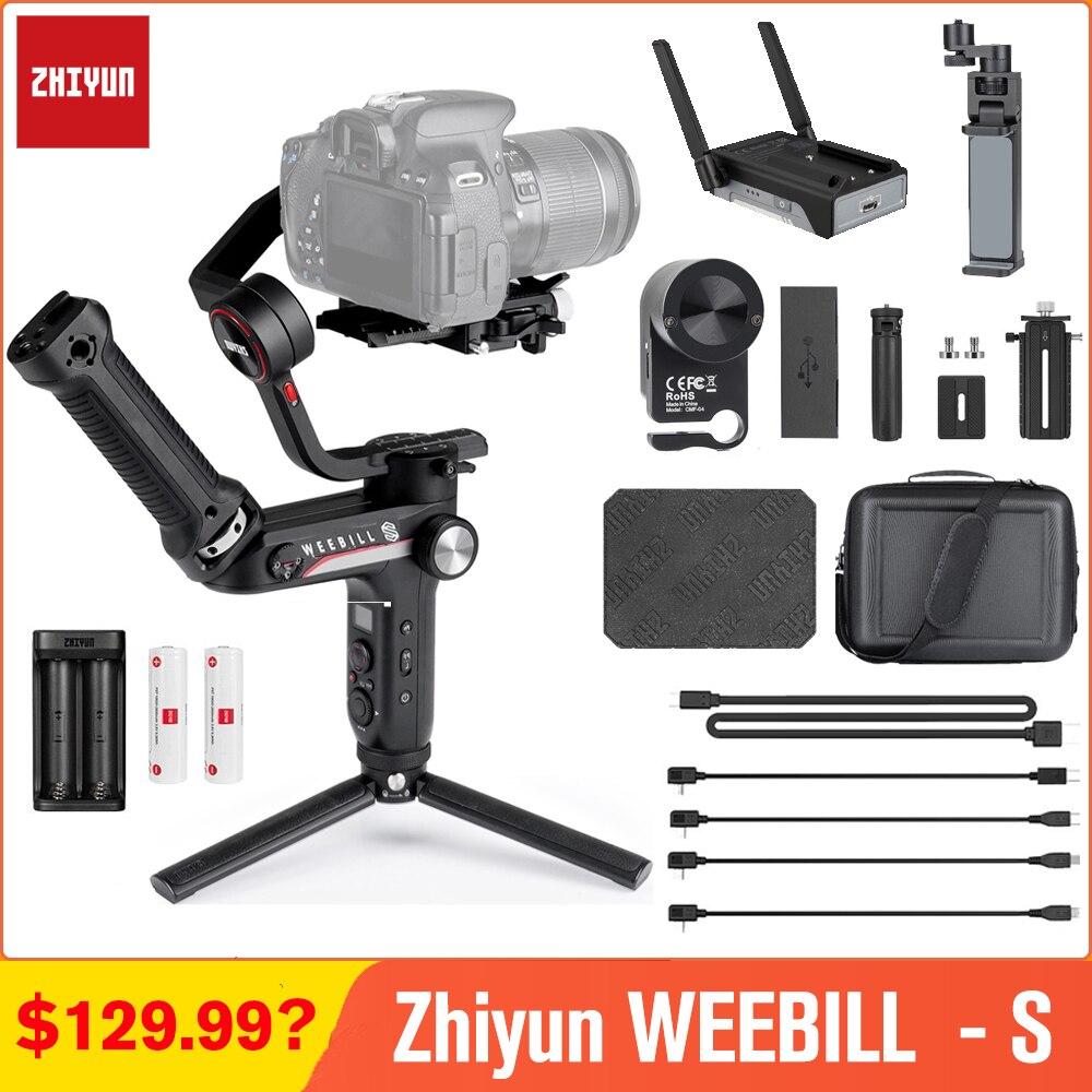 Zhiyun weebell LAB weebell S 3-Axis مثبت Gimbal ل Mirrorless و DSLR كاميرات لسوني A9 a6300 A7M3 A6000 باناسونيك GH5