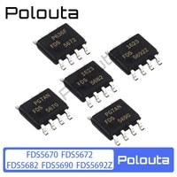 10 pcslot polouta fds5672a fds5670 fds5682 fds5690 fds5692 sop8 field effect transistor package multi specification component