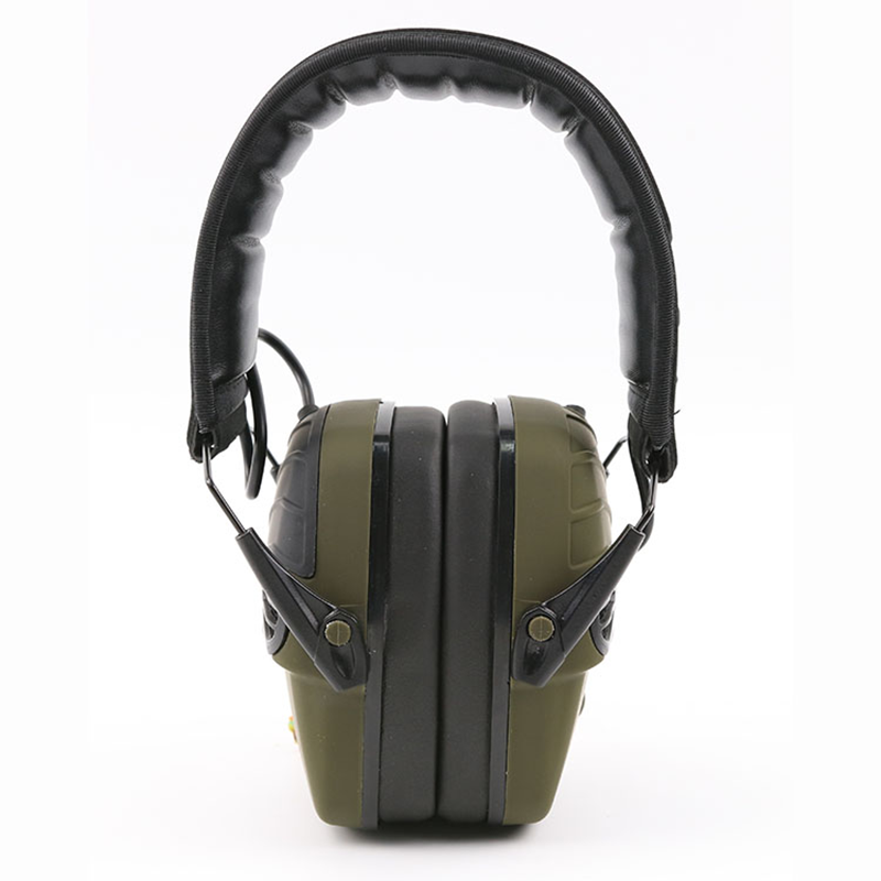 Electronic Ear Defenders Shooting Earmuffs Industrial Noise Cancelling Winter Safety Ear Muffs Gun Range Hearing Ear Protection zohan noise cancelling hunting hearing protection safety earmuffs ear defenders adjustable shooting ear protection protector