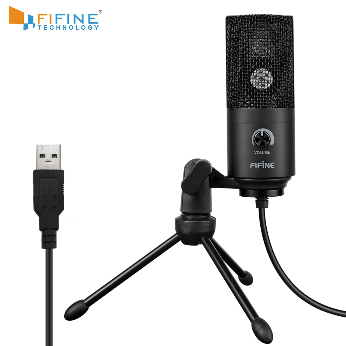 ميكرفون تسجيل مقبس USB دعوى للكمبيوتر ويندوز كمبيوتر محمول حساسية عالية لعبة أداة تسجيل الفيديو K669B