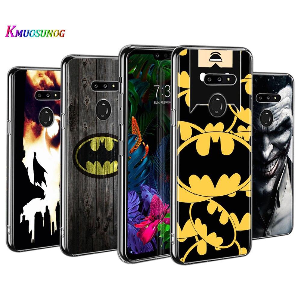 Batman Fashion Style for LG W30 W10 V50S V50 V40 V30 K50S K40S K30 K20 Q60 Q8 Q7 Q6 G8 G7 G6 ThinQ Phone Case