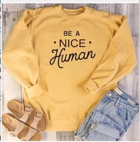 be a nice human mens hoodie casual print sweatshirts men hoodies streetwear fashion clothes 2018 harajuku top o neck