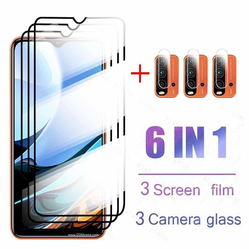 Protector de cristal templado para cámara xiaomi redmi note 9, 9s, 9...