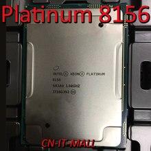 Gezogen Xeon Platin 8156 CPU 3,6 GHz 16,5 M 4 Core 8 Threads LGA3647 Prozessor