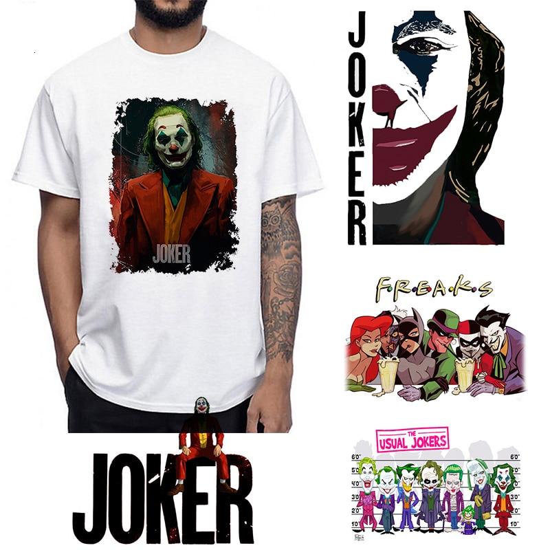 Camiseta corta de Halloween, divertida camiseta de terror para niños de Satán, camiseta de manga corta de Joaquin Joker