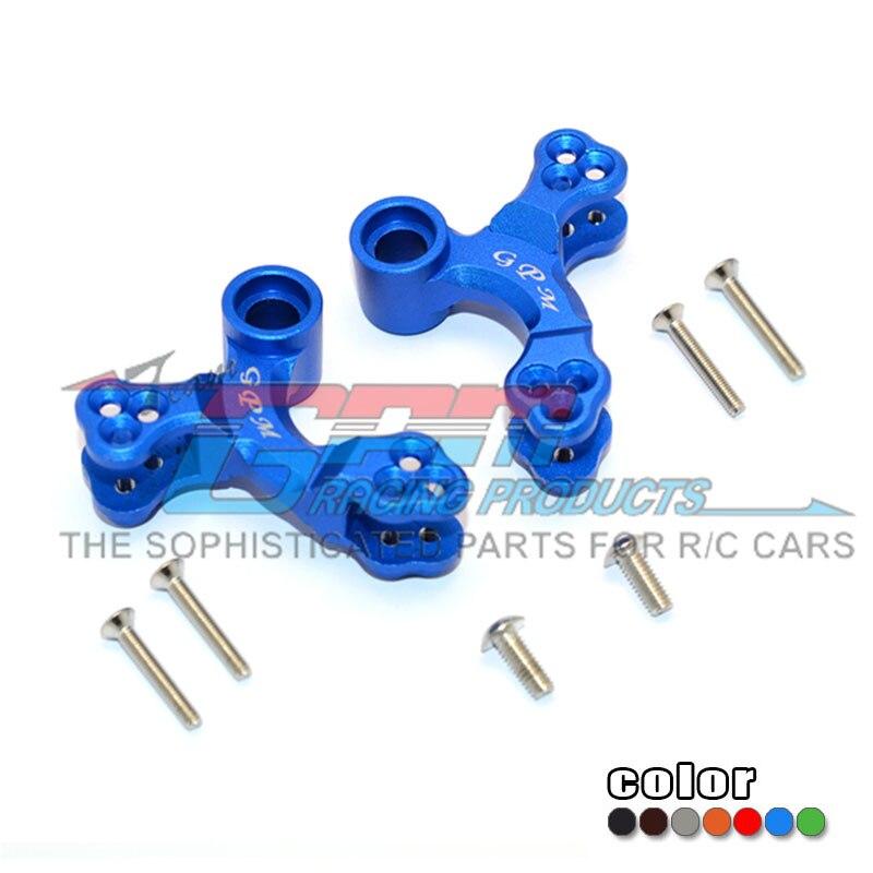 Amortiguador delantero o trasero de aluminio GPM y conector TIEROD 1/8 ARRMA NERO 6S BLX AR106011/AR106009 RC actualización