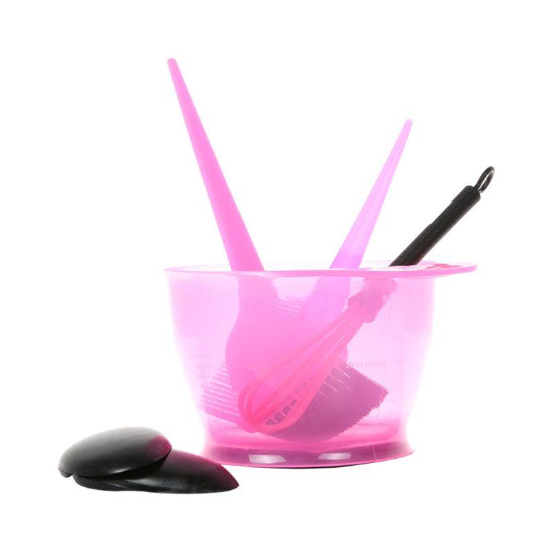 5 шт., набор для окрашивания волос, расческа для расчесывания, миска для смешивания, накладки для ушей 896D