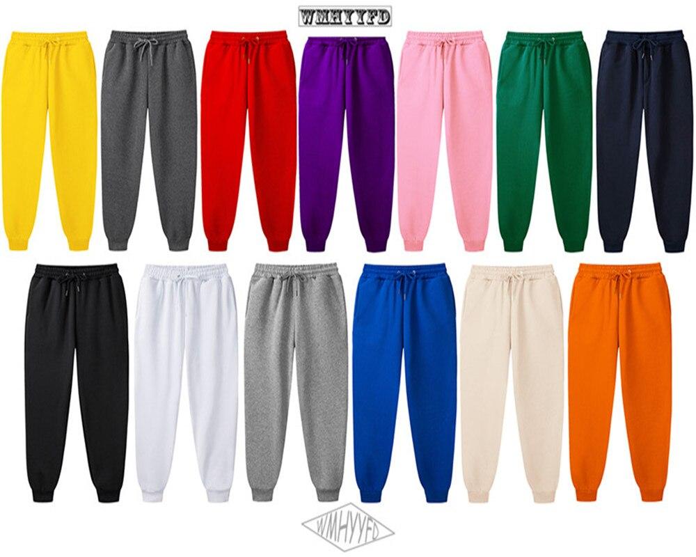 Новинка 2020, мужские джоггеры, Брендовые мужские брюки, повседневные брюки, спортивные штаны, джоггеры, 15 цветов, повседневные wmhyyfd, спортивны...
