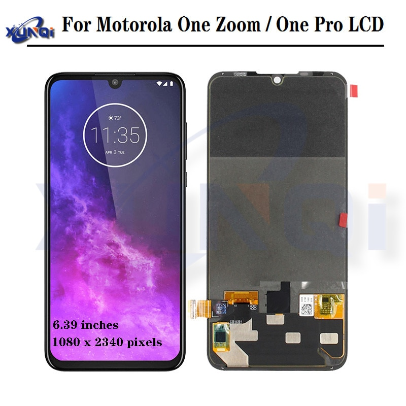 "6.2 ""Original Für Motorola Moto One Power P30 Hinweis XT1942-1 XT1942-2 LCD Display Touch Screen"